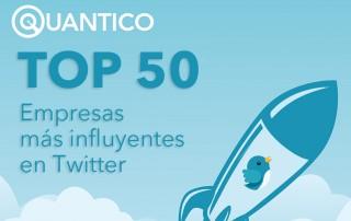 TOP50 EMPRESAS EN TWITTER